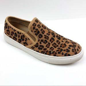 Boutique by Corkys Brown Leopard Jungle Slip-on